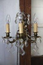 他の写真3: 3灯のウォールシャンデリア