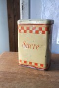 Tin缶 キャニスター Sucre